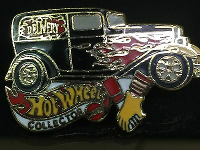 Vintage Hot Wheels Collector 32 Ford Delivery Hat Lapel Pin - Mint