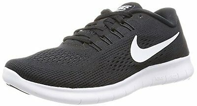 Nero (Black/White/Anthracite) (TG. 36.5) Nike Free Run, Scarpe Running Donna, Ne