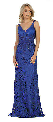 Sale ! New Special Occasion Lace Long Dress Prom Red Carpet Formal Evening Gowns