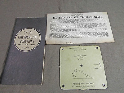 Simple-Fyer Derck's Gauge Dial with Functions Book and instructions