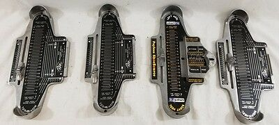 4 Vintage Child's Foot Measuring Devices Ralyn Shoe Care Smart Fit Kids Lot NR!!