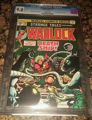 Strange Tales #179 Cgc 9.8 White Pages First Appearance Of Pip The Troll