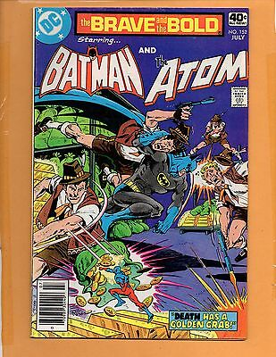 Brave And The Bold #152 Batman, The Atom VF