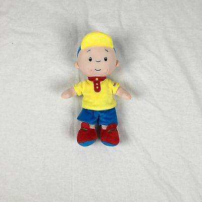 "Caillou  Plush Doll  10"" Authentic USA Seller."
