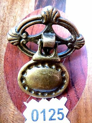 Victorian Drawer Pull Century Hardware Cabinet Brass Door Drop Pull Ornate