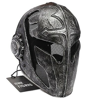 OneTigris Tactical Airsoft Full Face Protection Game Mask Knight Mask Templar...
