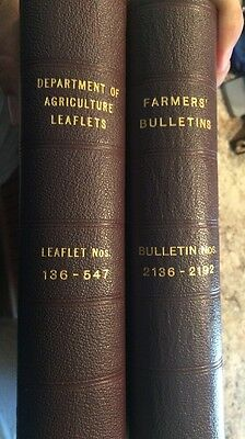 Department Of Agriculture Leaflets / Farmers Bulletins E.Y. Berry