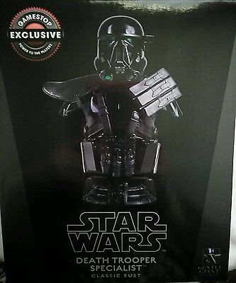 Star Wars *LIMITED EDITION* Death Trooper Specialist Bust Gentle Giant