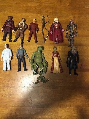 Doctor Who Action Figure Lot Of 10