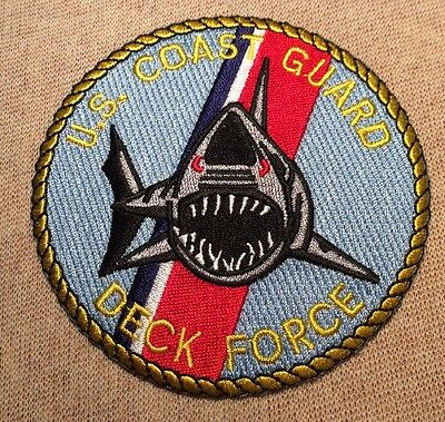 US United States Coast Guard Deck Force Patch