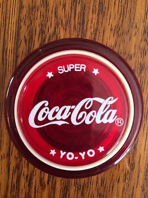 Russell Maroon Super Coca Cola Yoyo Excellent Brand New