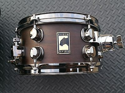 """Mapex Black Panther Deep Forest 10"""" X 5.5"""" side snare drum w/ bag!"""