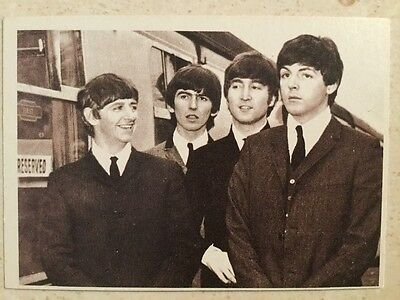 BEATLES Original 1964 Hard Days Night Trading Cards Full Set of 55