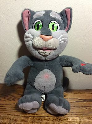 Talking Friends Tom Cat Records Repeats What You Say Sound & Light Stuffed Plush