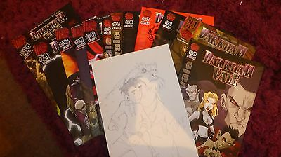 monster club comic set and extras