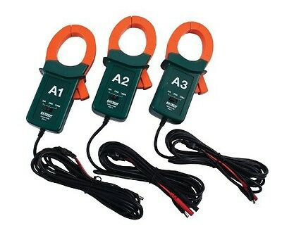Extech PQ34-12 1200A Current Clamp Probes, 3-Pack