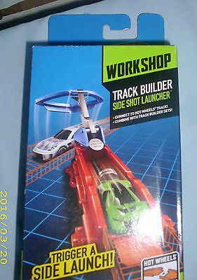 Hot Wheels Workshop Track Builder  Side Shot Launcher  Combine To Create Tracks