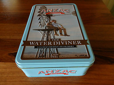 "Unibic  Anzac Biscuit Tin .  "" The Water Diviner "". 2014. No Leaflet"