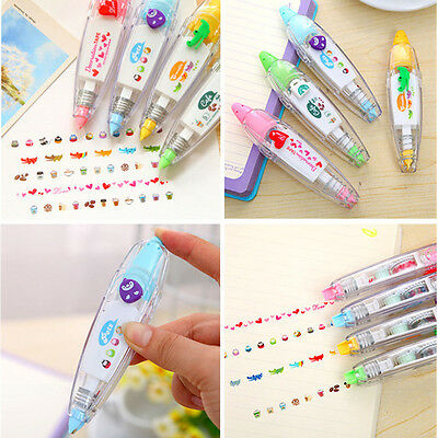 Useful Modification Correction Tape Roller School Office Study Stationery Tool