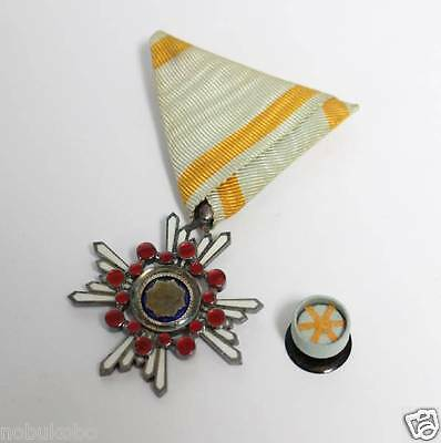 "Japanese Vintage Medal ""The Order of the Sacred Treasure, Silver Rays""30"