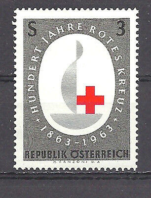 Austria , Red Cross , 100 Years , Stamp Perf , Mnh