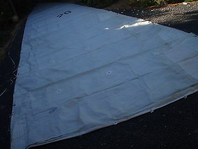43Cole Nantucket mainsail 3reef 15.9 x 4.85m 4 full battens required good