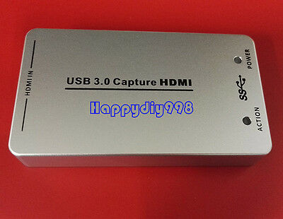 HDMI to USB 3.0 Capture Card Device Dongle 1080P Video Audio Adapter