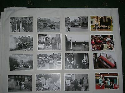 Collection of 50 facsimile post cards of Norfolk