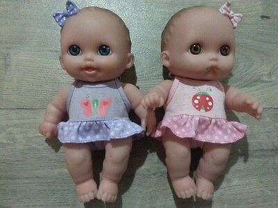 Berenguer Twin Babies with Hard Bodies