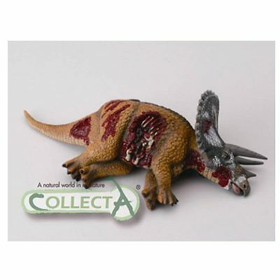 DEAD TRICERATOPS DINOSAUR by CollectA SUPERB MODEL DETAILED BNWT