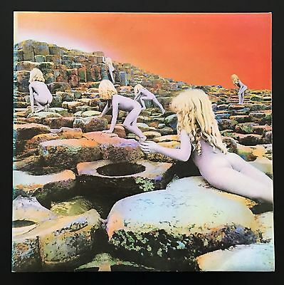 LED ZEPPELIN - HOUSES OF THE HOLY uk 1st press LP A2/B2 superb