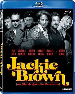 Blu Ray  //  JACKIE BROWN  //  Film de QuentinTarantino  /  NEUF cellophané