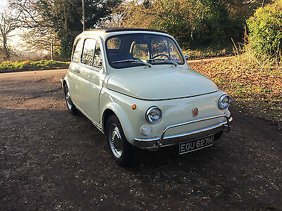 1970 Classic Fiat 500L, Amazing 1 owner and 8,600Km!!!