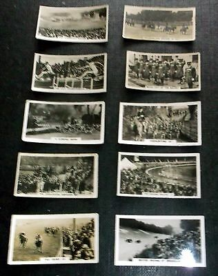 10 Wills Cigarette Cards Homeland Events Inc The Derby