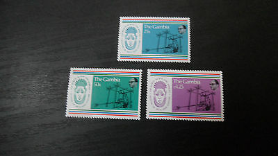 Gambia 1977 Sg 361-363 2Nd World Black Festival Of Arts  Mnh
