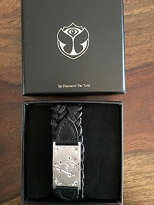 Tomorrowland Festival DJ Bracelet Limited Edition VIP (silver, black diamonds)
