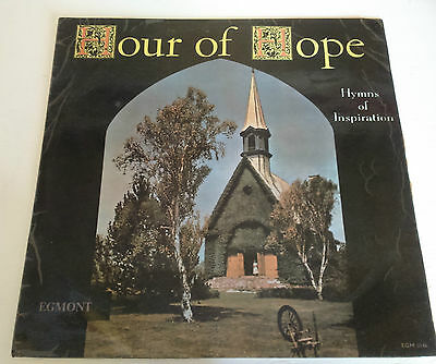 """Hour of Hope Vinyl 12"""" LP Hymns of Inspiration I Saw the Light Never Alone"""