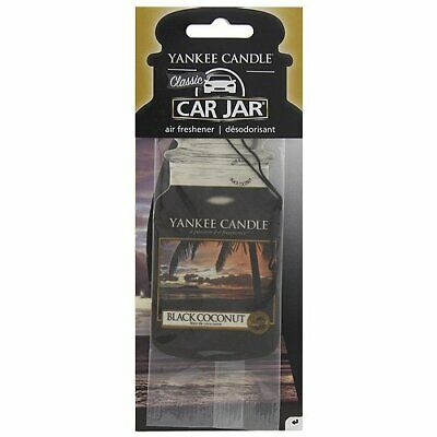 Yankee Candle Profumo Per Auto Single Car Jar Black Coconut