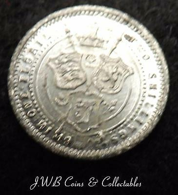 Tiny 1902 Edward VII Model Florin Coin By Lauer Toy Money Ref - T/M