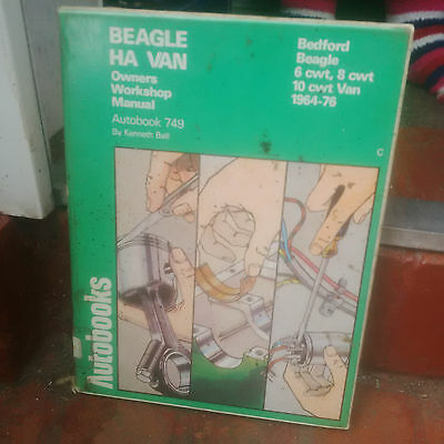 bedford beagle ha van workshop manual