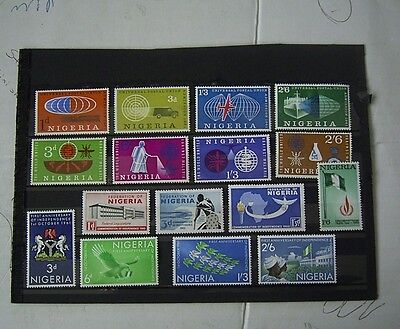 Nigeria Mint Stamp Selection Including Sets