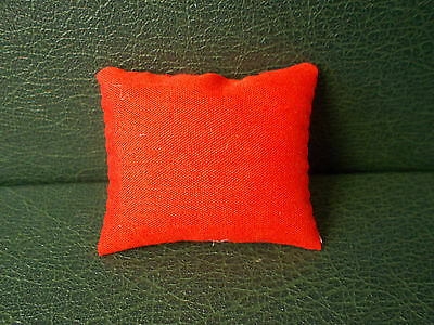 1/12th Scale. Dolls House. Red Cushion.