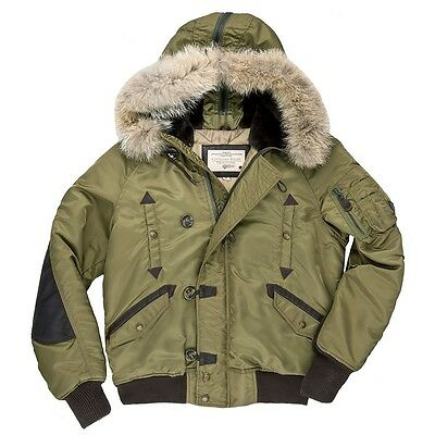 Cockpit USA: N-2B Short Winter Parka Jacket - Made in USA Z24P002