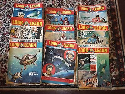 Look and Learn 1960's magazine lot incorporating Ranger 155 issues comics retro