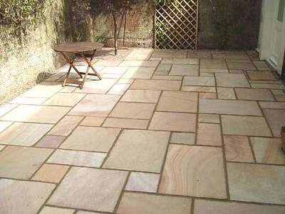 RIPPON BUFF Calibrated Indian Sandstone Paving Slabs (PREMIUM) 600 Pack 19.50 m2