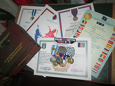 French Foreign Legion 2 REP-2cie-Afghanistan-SAHEL-Mali-set medals