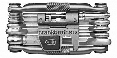 Crank Brothers Multi 17 Cycling Multi Tool 17 Tools Nickel