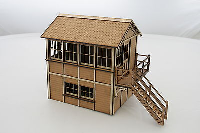 Fine Scale  Signal Box Right Hand O Gauge Kit