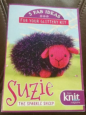 Knitting Kit,& Pattern  Suzie The Sparkly Sheep.  New