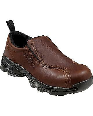 Size 11 W Work Shoes, Women's, Brown, Steel Toe, Nautilus Safety Footwear-NEW